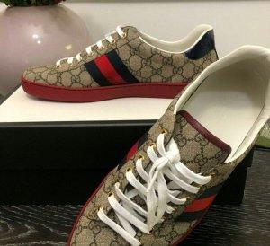 Gucci Heel Sneakers brown-red