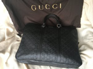 Gucci Porte-documents brun foncé