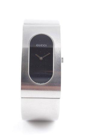 Gucci Orologio analogico argento stile casual
