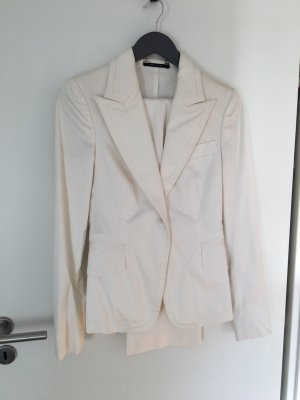 Gucci Traje de pantalón blanco-blanco puro tejido mezclado
