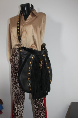 Gucci Baboushka Cowboy Western Fransen Gipsy Tasche Nieten Box ID Karte neu Leder