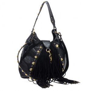 Gucci Fringed Bag multicolored leather