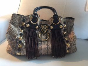 Gucci Baboushka Large Tote Bag in Python Leder
