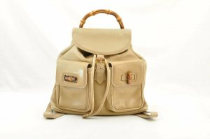 Gucci Backpack bamboo