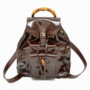 Gucci Backpack bamboo