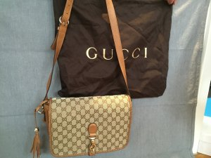 Gucci Carry Bag ocher-bronze-colored