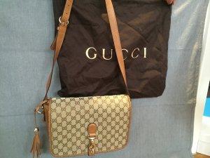 Gucci Bag aus Canvas und Leder mit Logo