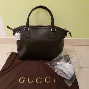 Gucci BAG Charmline Leder schwarz Neu mit Etikett + Geschenk Original Gucci Nagellack