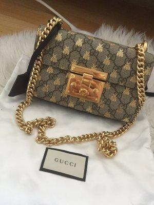 Gucci Borsa a spalla oro-argento
