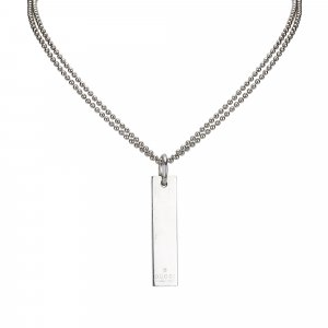 Gucci Ball Chain Pendant Necklace