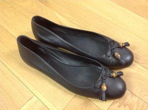 Gucci Ballerinas black leather