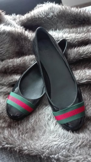 Gucci Ballerinas black leather