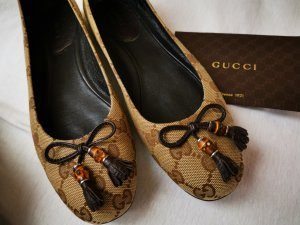 Gucci Ballerinas brown