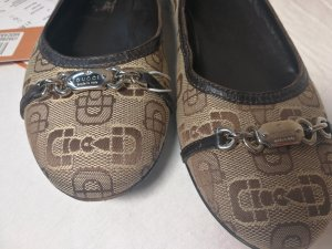 Gucci Ballerinas with Toecap brown