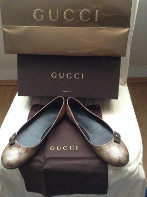 Gucci Ballerinas im Guccissima Muster - Neuwertig !