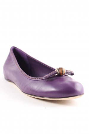 Gucci Ballerinas lilac classic style