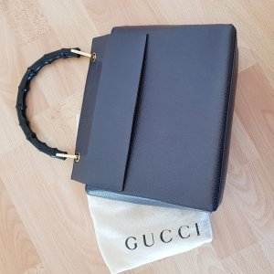 Gucci Sac Baril noir-gris anthracite