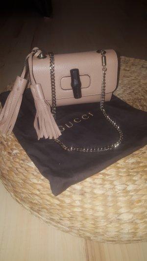 Gucci Minitasje goud-lichtbruin Leer