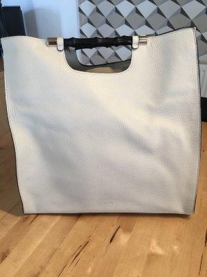 Gucci Shopper natural white leather