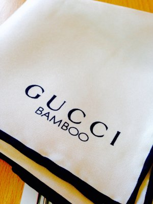 Gucci Bamboo Halstuch - Tuch Limited Edition