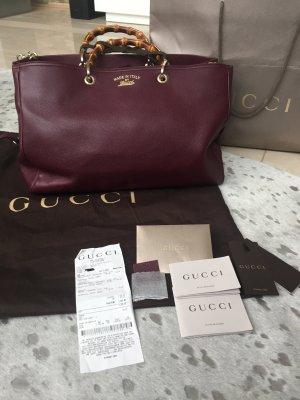 Gucci Bamboo Handtasche, large, wie neu!