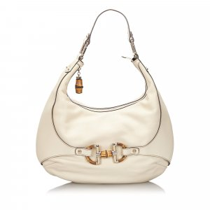 Gucci Bamboo Leather Amalfi Hobo Bag