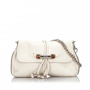 Gucci Bamboo Leather Croisette