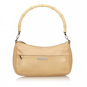 Gucci Handbag beige leather