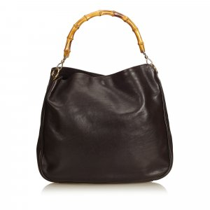 Gucci Bamboo Leather Hobo