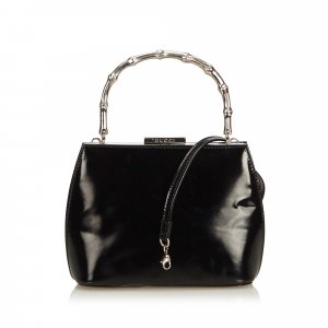 Gucci Satchel black leather