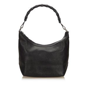 Gucci Bamboo Leather Shoulder Bag