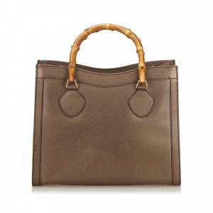 Gucci Tote brown leather
