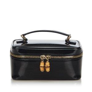 Gucci Make-up Kit black imitation leather