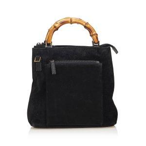 Gucci Handbag black suede