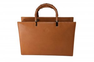Gucci Carry Bag cognac-coloured leather