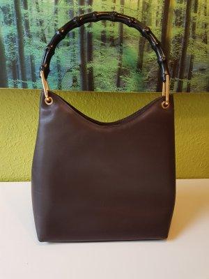 Gucci Bolso negro-marrón oscuro