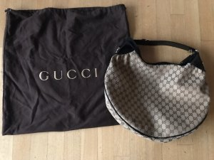 Gucci Beige/Ebony GG Canvas Pelham Hobo Bag (neuwertig) NP: 1100€