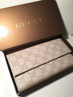 Gucci beige Geldbeutel