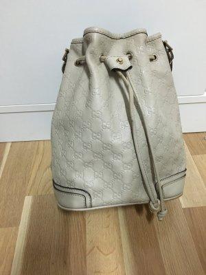 Bolso tipo marsupio beige claro-crema