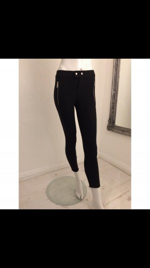 Gucci Biker Skinny Hose Leggings Pants Zips Zipper Top Luxus
