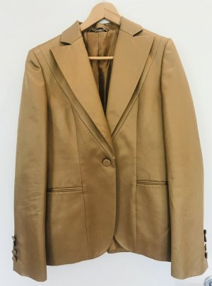 Gucci Long Blazer gold-colored-sand brown