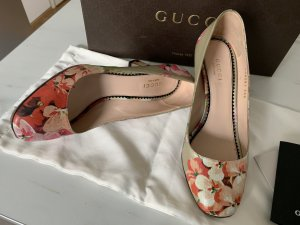 Gucci High-Front Pumps multicolored