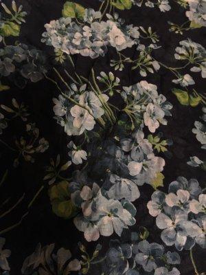 Gucci Bufanda de seda azul-azul celeste
