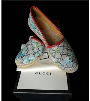 Gucci Mocassins rouge-bleuet