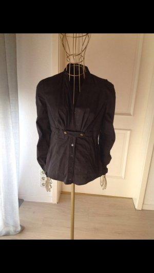 Gucci Bluse schwarz mit schnalle