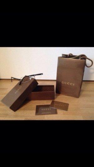 Gucci Bril zwart-goud