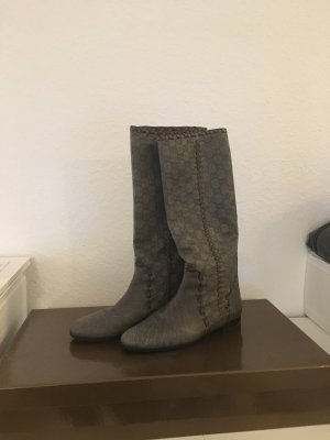 Gucci Boots grey leather
