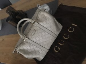Gucci Bowlingtas licht beige