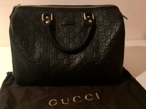 Gucci Bowling Bag black leather
