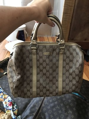 Gucci Boston Bag Gold vintage